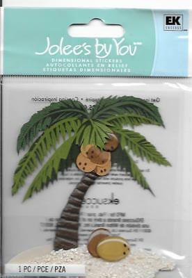 JOLEE/'S BOUTIQUE PALM TREES /& CRUISE SHIP DIMENSIONAL EMBELLISHMENTS NEW A9134