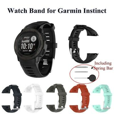 Silicone sports Watch Band for Garmin Instinct Smart Watch Replacement Wristband