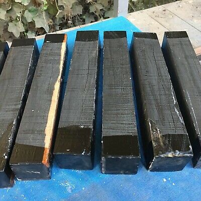 Ebony Turning Blank/woodturning/exotic Woods 50x50x350mm/exotic Hardwoods