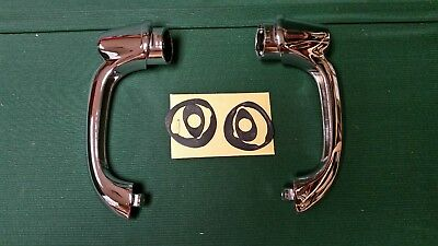 NEW 1953 54 CHEVY and PONTIAC 2 DOOR HARDTOP & CONVERTIBLE PAIR OF DOOR HANDLES