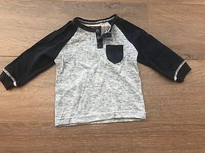 Sovereign Code Baby Boys Blue Long Sleeved Shirt Auction 12m Deals Sales Bargain