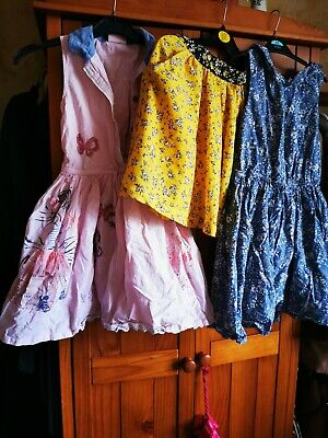 Girls Next Summer Clothes Bundle Size 9 Years Pretty Dresses And Skirt