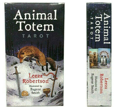 New Animal 78 Tarot Cards Board Game HQ Family Design Game Only English Edition