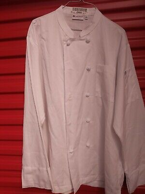 Chef Works Lg White Chefs Cook's Jacket Coat Uniforn (Excellent Condition)