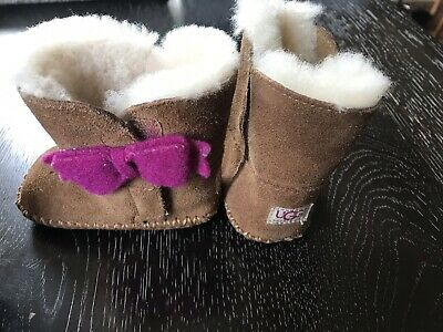 290553e4d67 NEW INFANT GIRLS Seashell Pink Small 2/3 Ugg Cassie Cactus Flower ...