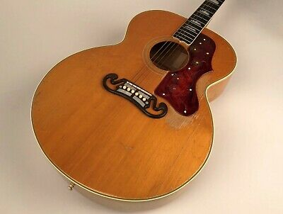 Vintage 1957 Gibson J-200 Acoustic Guitar in Natural - King of the Flattops