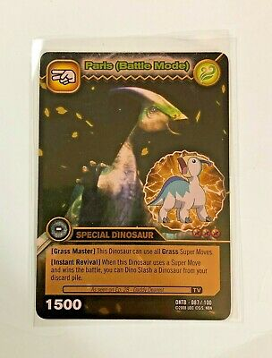 Dinosaur King TCG  Series 2 Colossal Team Battle Gold Rares