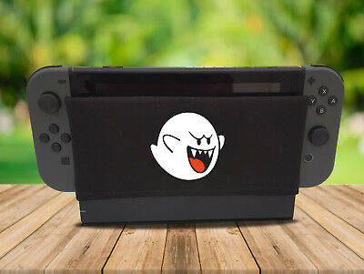 Ghost - Nintendo Switch Dock Sock Cover Retro Gaming Screen Handmade