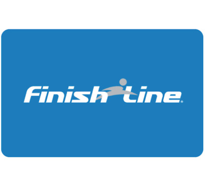 Finish Line Gift Card - $25 $50 or $100 - Email delivery