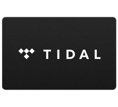 $20 TIDAL Gift Card - Email delivery