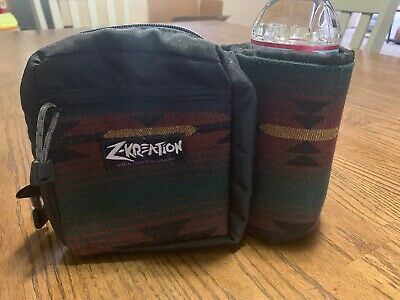 Z-Kreation Boulder Colorado Fanny Pack Hiking Lumbar Bag Bottle Holder Cubelet