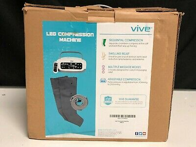 BRAND NEW Leg Compression Machine by Vive X001CSDWRX