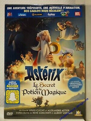 film animation Dvd ASTERIX Le Secret de la Potion Magique 2019 Alexandre Astier