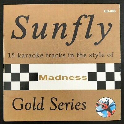 Sunfly Gold Series Karaoke CDG GD-006 Madness CD