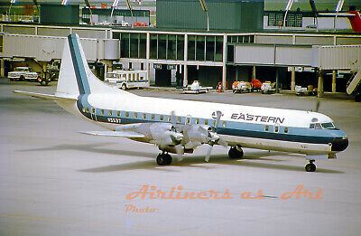 EASTERN AIRLINES LOCKHEED L-188 Electra N5537 at ORD May 1967 8