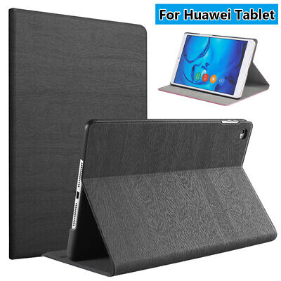 Tablet Cover Flip Stand Smart Case For Huawei MediaPad M3 M5 M6 8.4'' 10.8''