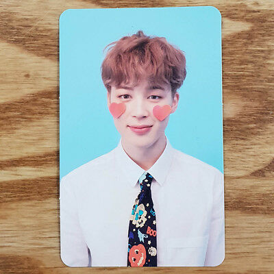 Jimin Official Photocard BTS Love Yourself Answer F Version Genuine Kpop