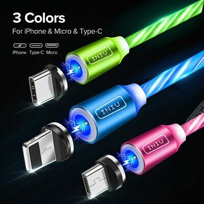 Trinity Magnetic Absorption Data Cable 3 in 1 360-Degree Innovative Streamer NEU