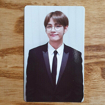 V Official Photocard BTS Memories of 2018 Kpop Genuine Taehyung