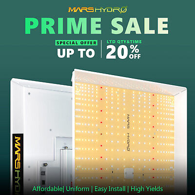 Mars Hydro TSW 2000W LED Grow Lights for Indoor Plants Veg Flower Replace HPS