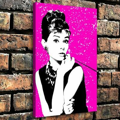 "Audrey Hepburn Picture HD Canvas Prints Painting Home Room Decor Wall art16""x24"""