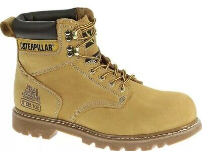 Caterpillar Men's Boot Second Shift ST Steel Toe Wheat P89162 Size 9.5