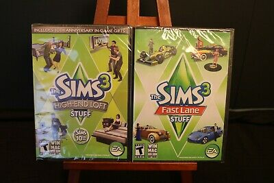 THE SIMS 3 Fast Lane Stuff - Expansion Pack - PC MAC EA