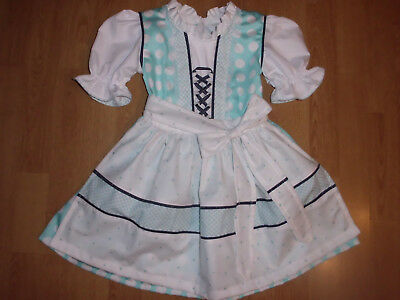 "NEU   Kinder Dirndl  gr. 86/92     ""MADE WITH LOVE"""