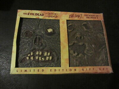 The Evil Dead Book Of The Dead 1 & 2 DVD, 2005 Limited Edition Gift Set