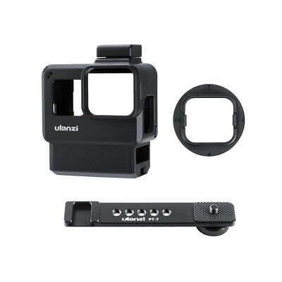 Ulanzi V2 Pro Sports Camera Cage Vlog Case Protective Cage with 52mm Filter W7I4