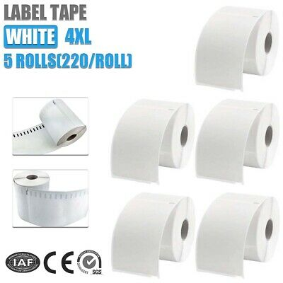 5PC Compatible For Dymo 4XL Extra Large Shipping Labels 220 roll 104x159mm AU