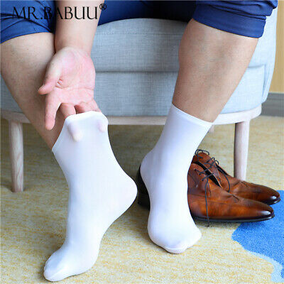 5/10Pairs Pack Mens White Soft Durable Home Casual Short Ankle Sheer Socks 0099