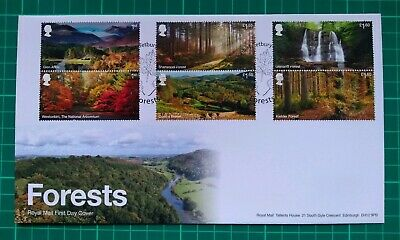 2019 Forestry Commision Forests set of 6 on FDC Westonbirt Postmark