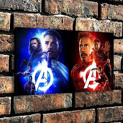 """Avengers 4 Poster HD Canvas Print Painting Home decor Room Wall art  16""""x30"""""""