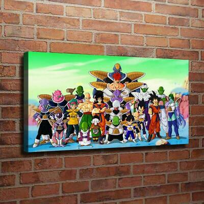 """Dragon Ball Picture HD Canvas Prints Paintings Home Room Decor Wall art  16""""x32"""""""