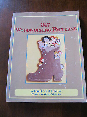 FC&A Craft Publishing: 347 Woodworking Patterns: 1993: Preloved
