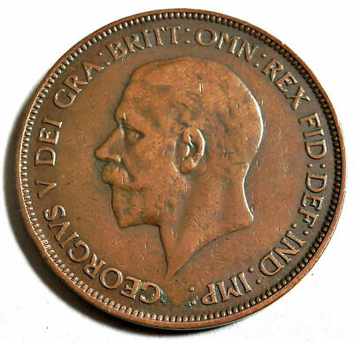 1936 King George V One Penny Coin /27