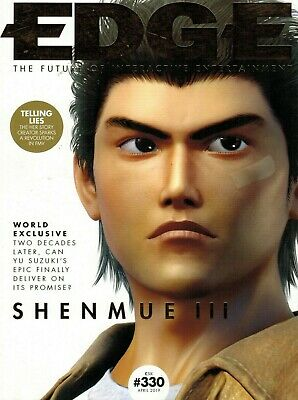 Edge Magazine - April 2019 - The Future Of Interactive Gaming - Shenmue Iii