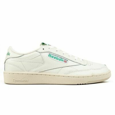 REEBOK CLASSICS LEATHER Club C 85 Vintage TV ChalkPaper White Trainers