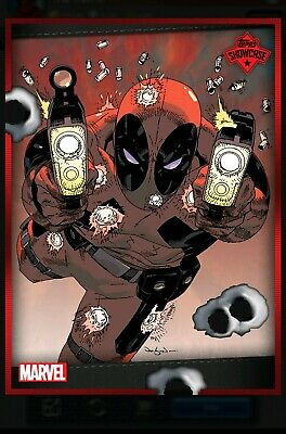 Deadpool # 2 Showcase Rare 2000cc Topps Marvel Collect