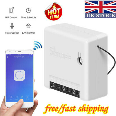 SONOFF MINI-Two Way DIY Smart Switch-APP Remote Control-for Alexa Google Home UK