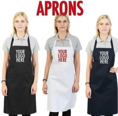 Personalised Apron Embroidered or Printed Custom Workwear/Gift