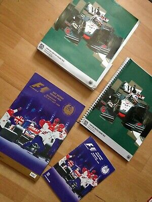 F1 British Grand Prix 1999 Limited Ed. Pack: Programme, Race Card + Media Guide