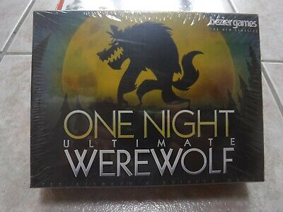 Board Game Brand New /& Sealed Toy Gift US One Night Ultimate Werewolf