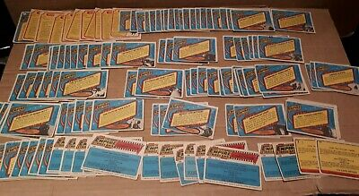 Star Wars The Empire Strikes Back 1980s Scanlens 155 Cards