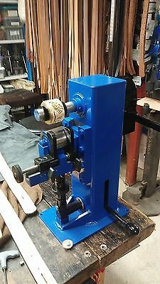 """Leather Roller Embossing Machine  """"NEW""""  Custom made in USA"""