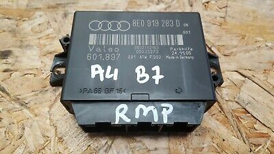 Audi A4 B7 Pdc Parking Sensor Aid Distance Control Unit 8E0919283D