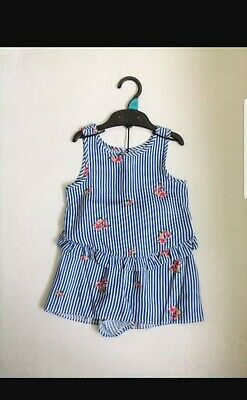 Girls 2 Piece Next Top & Shorts Outfit