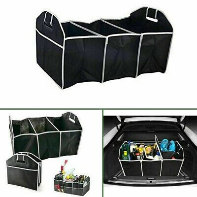 Car Boot Organiser Storage Trunk Collapsible Foldable Shopping Tidy Storage Bag