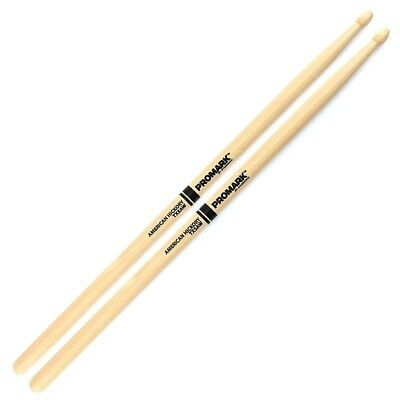 Promark TX5AW American Hickory 5A Drum Sticks - Wooden Tip